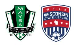 MAYSA logo and WYSA State League logo