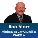 Ron Starr - Mississauga City Council - Ward 6 - Mississauga News and Mississauga Gazette - Mayor Bonnie Crombie