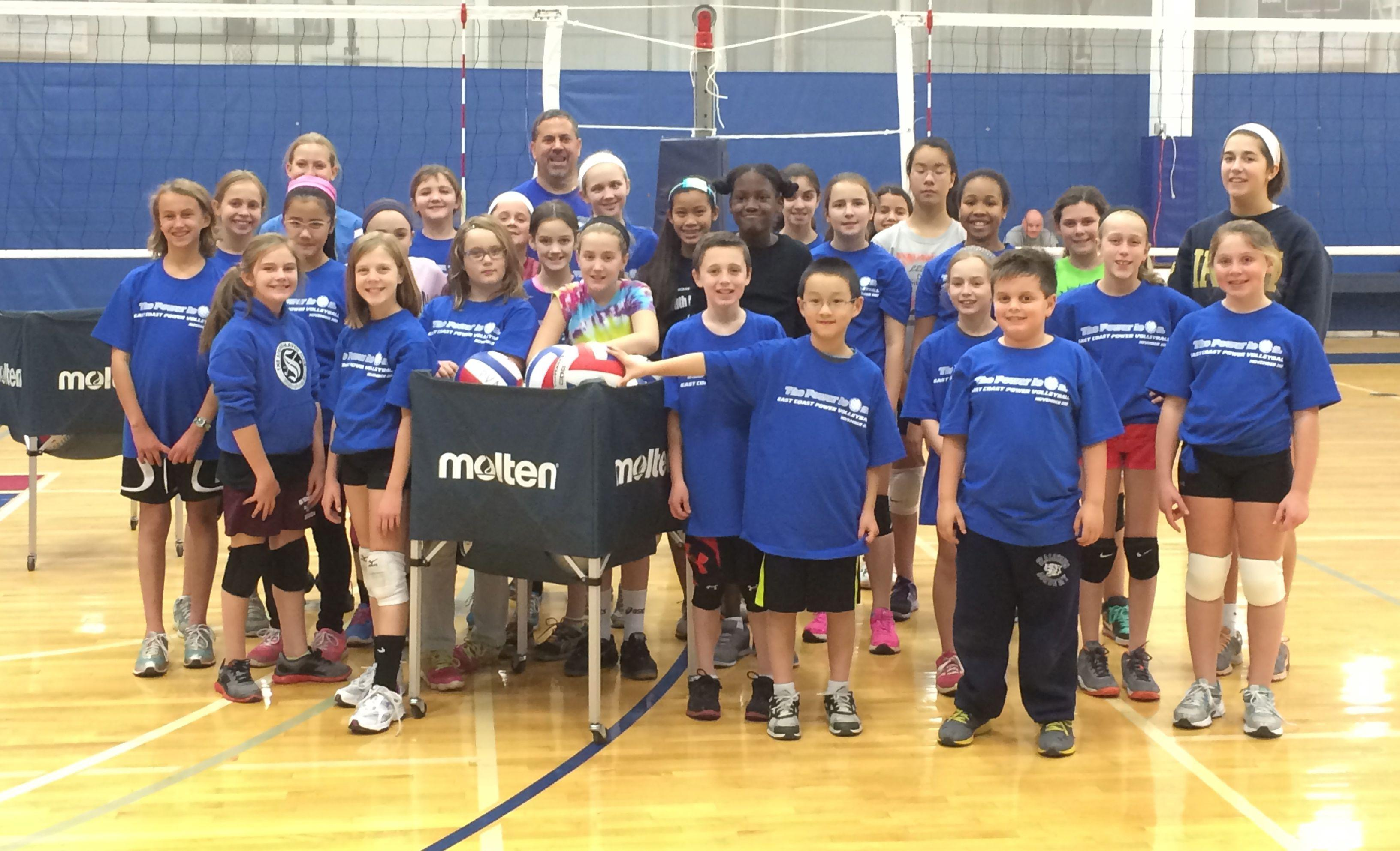 East Coast Power Volleyball Welcomes 100 New Junior And Performance Players