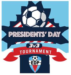 EDP Presidents' Day 3v3 Logo