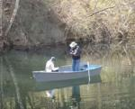 Boating in Birch Pond