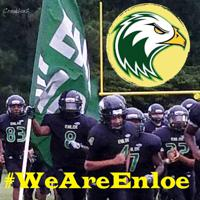 we are enloe football graphic