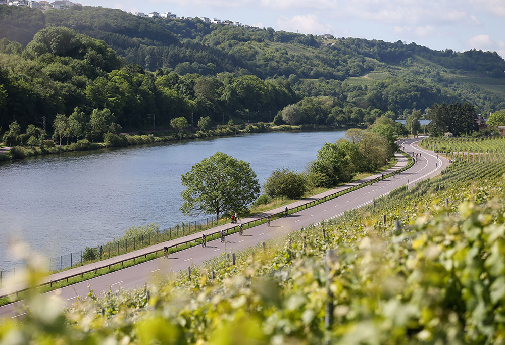IRONMAN 70.3 Luxembourg - Region Moselle Bike Course