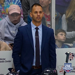 During his tenure with the Rangers, Blair's team reached the EHLP Finals in all three seasons, and earned championships in two of those three years. (Photo Credit -- SC Stingrays)