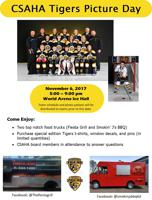 tigers picture day flyer