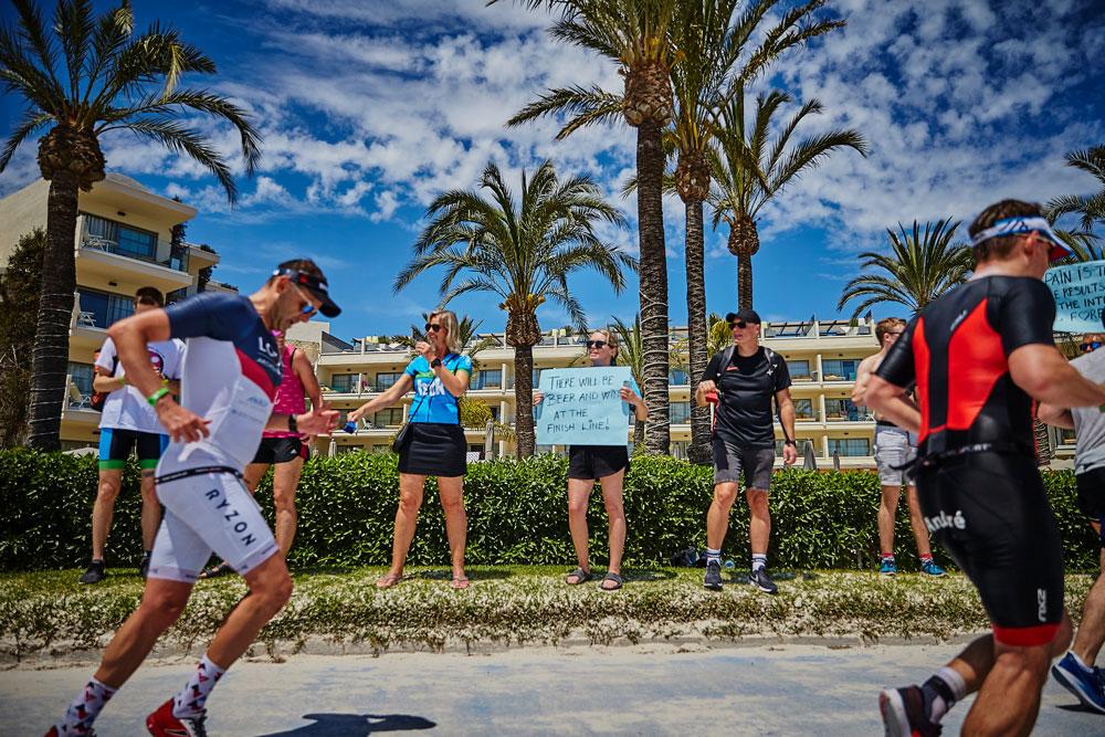 IRONMAN Mallorca Recolza al teu atleta