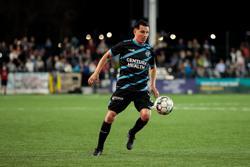 Switchbacks FC midfielder José Torres at Weidner Field