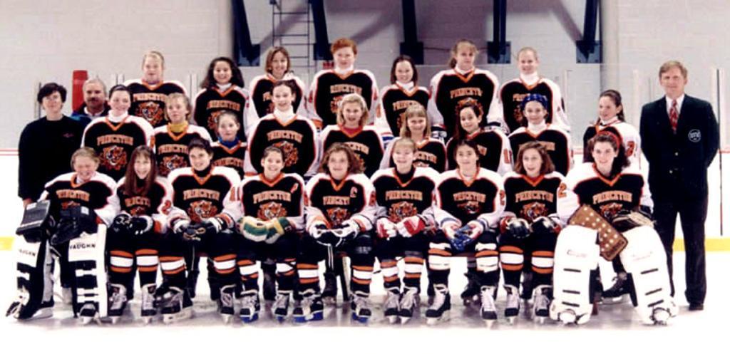 Team Photo: PRINCETON TIGER LILIES 1992 - 1993 TEAM