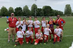 The Soccer West U11 Co-Ed Team