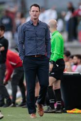 Brenden Burke Switchbacks FC Coach at Weidner Field